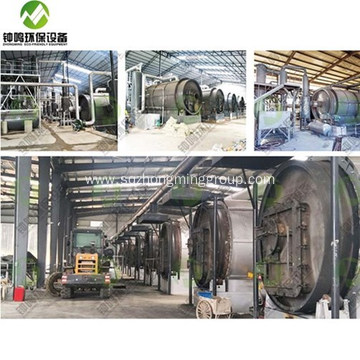 Plastic Pyrolysis Gas Composition