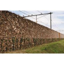 zinc-Al coated welded gabion basket for sale