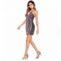 Hot night sequin fabric dress