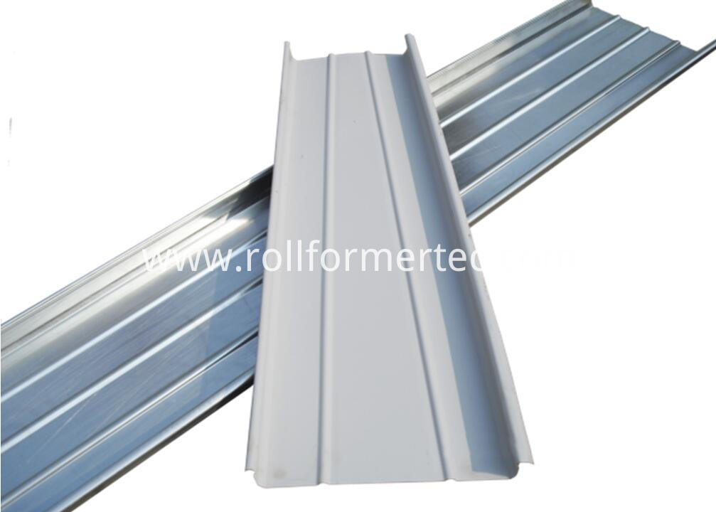 standing seam panel rollfoming line
