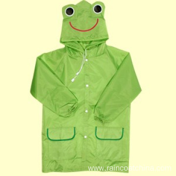 Durable Children Plastic Rain Coat