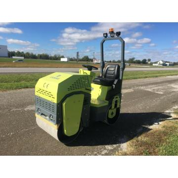 Best quality riad-on vibratory road roller compactor