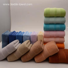 Pure Cotton 3-Piece Towel Sets Fade Resistant Towels