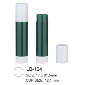 Empty Plastic Cosmetic Lip Balm