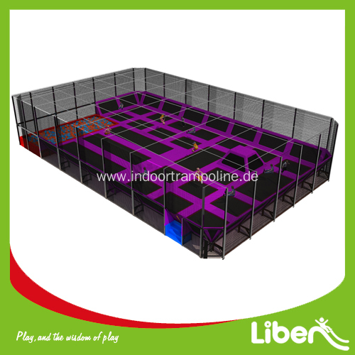 Customized indoor trampoline park for shopping mall