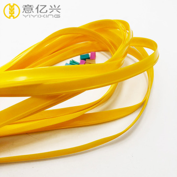 Wholesale plastic pvc zipper and zip seal