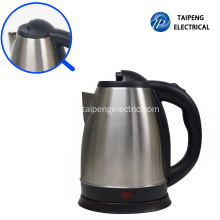 Best quality and factory for China Electric Tea Kettle,Stainless Steel Electric Tea Kettle,Cordless Electric Tea Kettle Manufacturer 360 degree 1500W electric kettle supply to Indonesia Manufacturers