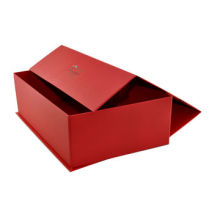 Red Corner Folding Cosmetic Box