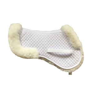 Various Pattern Half Sheepskin Saddle Pad
