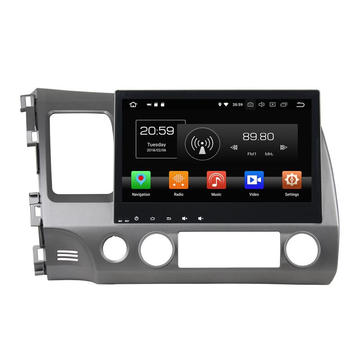 Navigation Multimedia Player Car Stereo alang sa Civic 2006