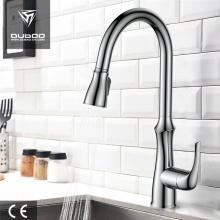 Gooseneck Swivel Spout Kitchen Faucets With Pull Sprayers