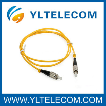 FC PC SM G657 Fiber Optic Patch Cord , Armoured Fiber Patch Cord