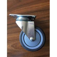 4 inch 130kg swivel caster TPE wheels