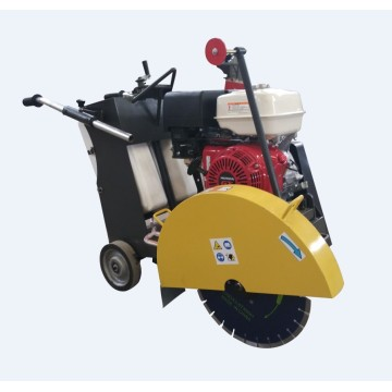 Diesel concrete floor cutting machine
