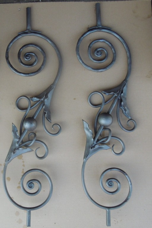 Forged Wrought Iron Fence Pickets