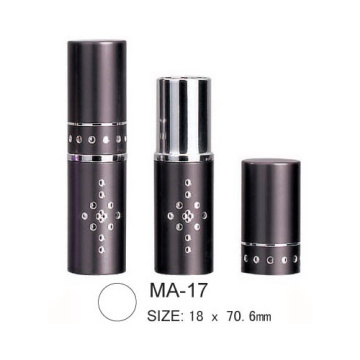 Round Aluminium Lipstick Packaging