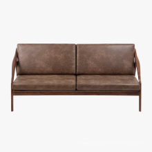 Popular Design for Wood Sofa Frame Modern Wooden Hotel Lounge Living Room Sofa supply to United Kingdom Manufacturers