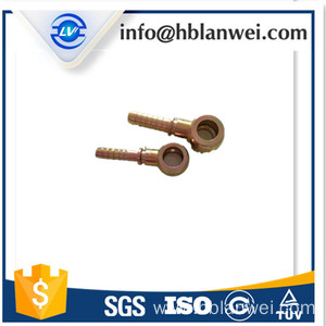 China Factory for for Brass Hose Fitting High pressure fittings pipe coupling Hydraulic fitting supply to Thailand Factories