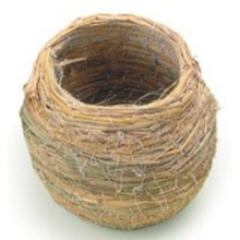 Pot Shape Medium Straw Bird Nest