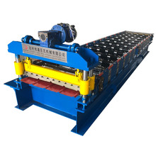 Colored Steel Step Trapezoidal Roof Sheet Forming Machine
