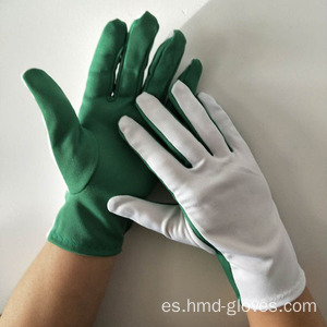 Flash formal guantes de poliéster