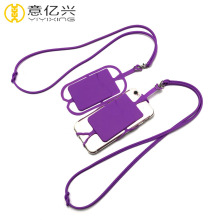 Wholesale silicone cellphone case holder lanyard