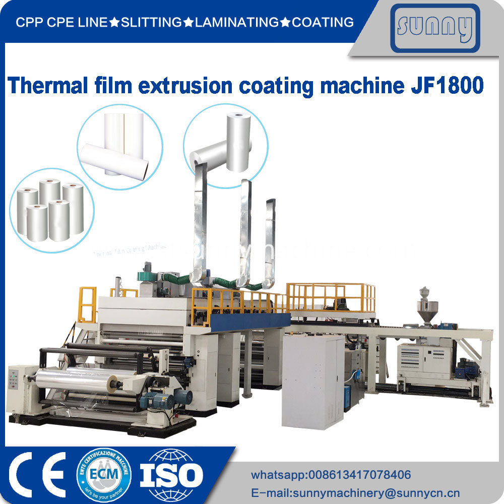Thermal Film Extrusion Coating Machine Jf1800 3