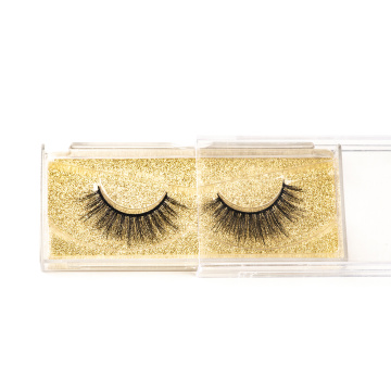 Free Sample Customize Packaging Mink Eyelashes