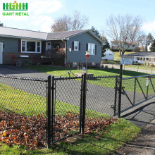 Hot sale pvc coated chain link fence