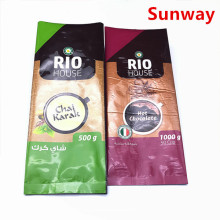 Holiday sales for Resealable Coffee Bags Small Coffee Packaging Pouch supply to Indonesia Suppliers