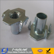 10 Years for Pronged Tee Nut Thread 4 Pronged T nuts supply to New Zealand Manufacturer