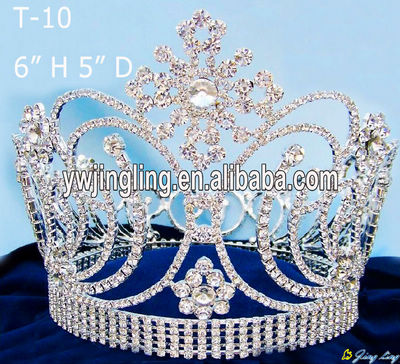 Full Round Pageant Crown T-10