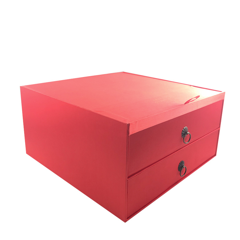Custom Red Storage Cosmetic Paper Box