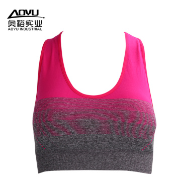 Custom  Sexy Women Blank Fitness Sports Bra