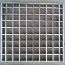 China for Galvanized Steel Deck Grating Hot Dipped Galvanized Forge-Welded Steel Grating supply to Turkey Factory