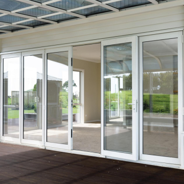 Lingyin Construction Materials Ltd Top Quality Folding Door System For Aluminum Door Transparent