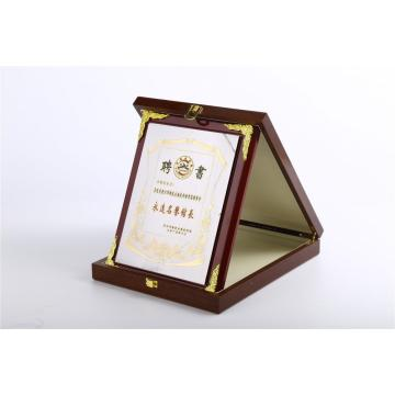 Factory wholesale Wooden engraving plaque trophy