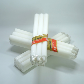 White Homeware Lighting 1.5cm Diameter Candle