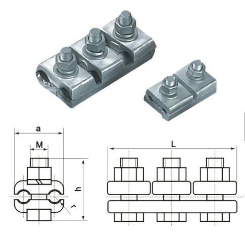 Hardware Accessories JB PG Clamp
