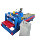 Color Steel Glazed Step Tile Roll Forming Machine