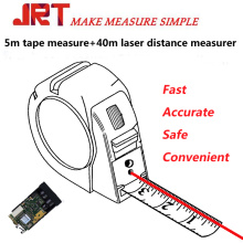 Laser Meauring Tape two in one