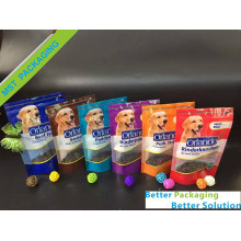 Clear Window PET Food Stand Up Pouches
