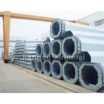 Hot New Products for Utility Pole 132kV Steel Tubular Utility Pole supply to Kuwait Supplier