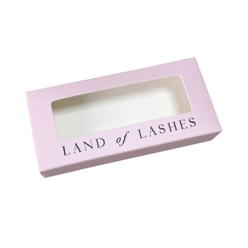 Fancy False Custom Printing Cosmetics Eyelashes Box