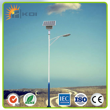 6m height solar street light