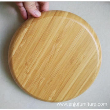 Multifunction bamboo different size dinner serving wooden plate