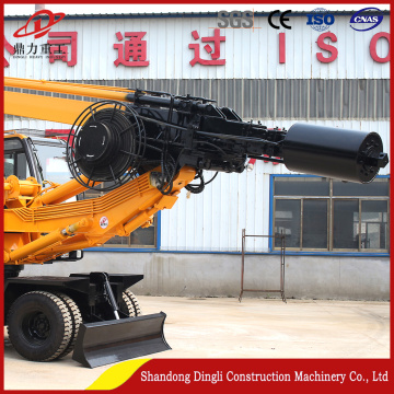 Highway bridge road high quality construction wheel pile driver