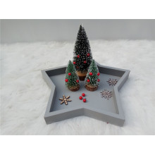 Small Simple Wooden Christmas Tree