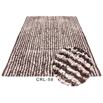 Polyester Shaggy Rug with thick yarns