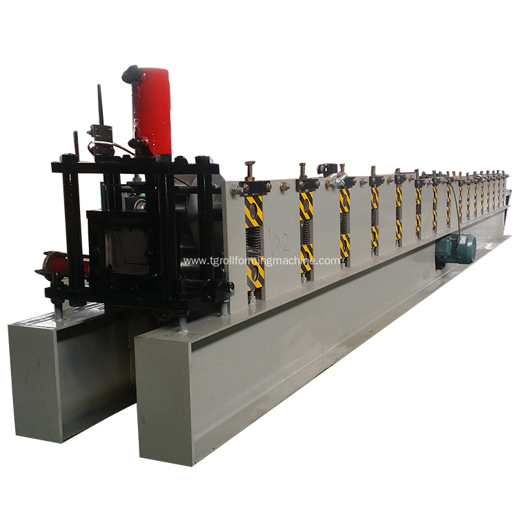 Rain gutter roll forming machine with high quality